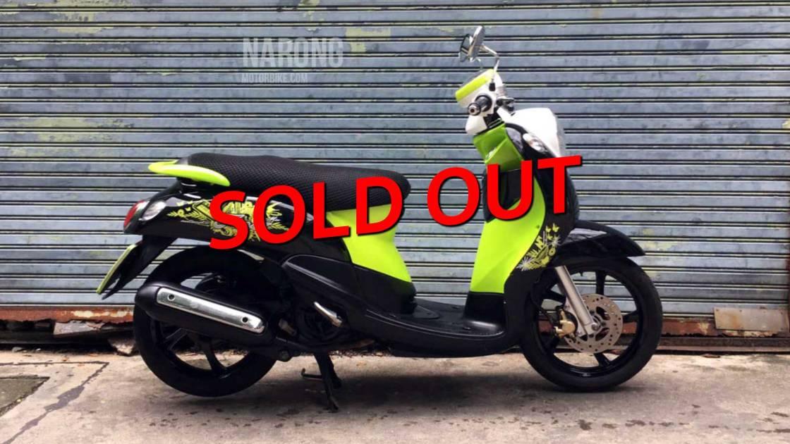 มอเตอร์ไซค์-มือสอง-yamaha-fino-53-black-green-cover-sold-out