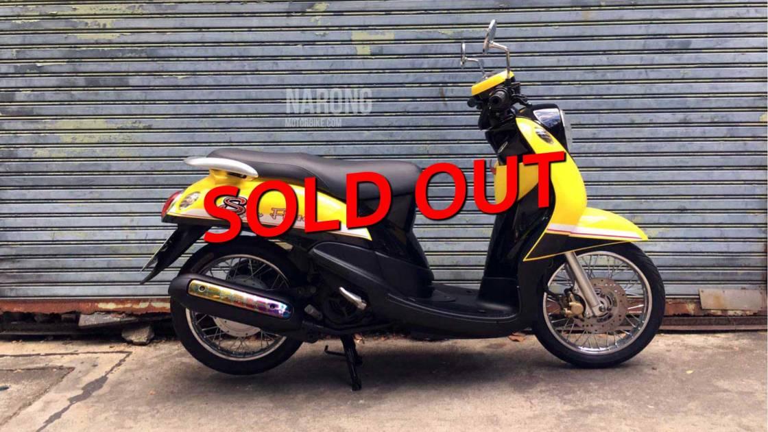 มอเตอร์ไซค์-มือสอง-yamaha-fino-56-yellow-black-cover-sold-out